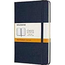 Moleskine: Zápisník tvrdý linkovaný modrý M