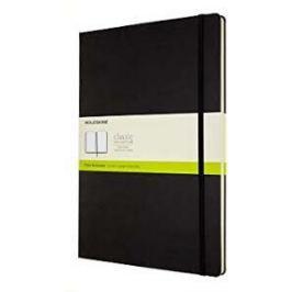 Moleskine: Zápisník tvrdý čistý černý A4