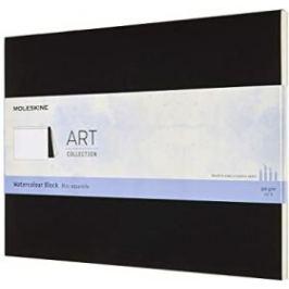 Moleskine: Akvarelový blok černý 23x31 cm