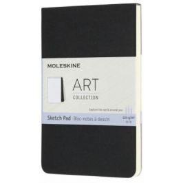 Moleskine: Skicář blok černý S