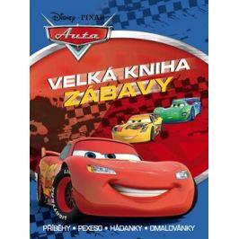Auta - Velká kniha zábavy - Příběhy, pexeso, hádanky, omalovánky - Walt Disney