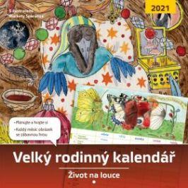 Velký rodinný kalendář 2021 - Monika Kopřivová