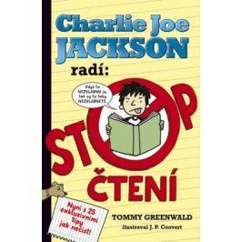 Charlie Joe Jackson radí: Stop čtení - Tommy Greenwald