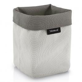 Blomus Oboustranný košík na kosmetické potřeby malý pískový/šedohnědý ARA