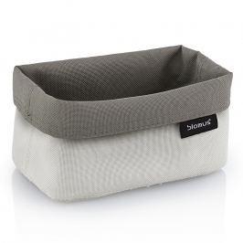 Blomus Oboustranný košík na kosmetické potřeby střední pískový/šedohnědý ARA
