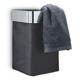 Blomus Nástěnný koš na ručníky/prádlo antracitový leštěný NEXIO