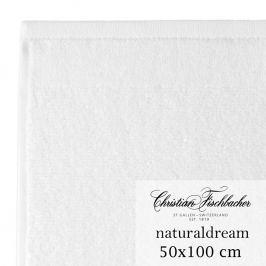 Christian Fischbacher Ručník 50 x 100 cm bílý NaturalDream, Fischbacher