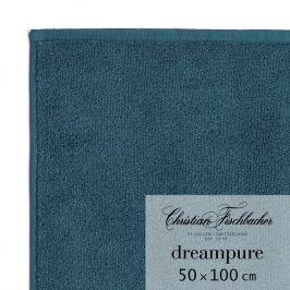Christian Fischbacher Ručník 50 x 100 cm tmavě petrolejový Dreampure, Fischbacher