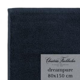 Christian Fischbacher Osuška 80 x 150 cm temně modrá Dreampure, Fischbacher