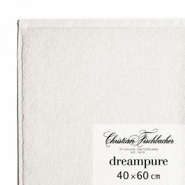 Christian Fischbacher Ručník pro hosty velký 40 x 60 cm křídový Dreampure, Fischbacher