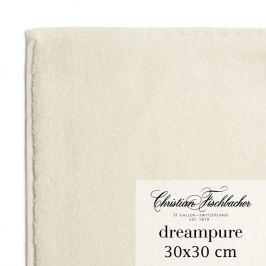 Christian Fischbacher Ručník na ruce/obličej 30 x 30 cm krémový Dreampure, Fischbacher