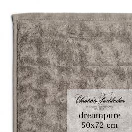 Christian Fischbacher Koupelnová předložka 50 x 72 cm béžovošedá Dreampure, Fischbacher