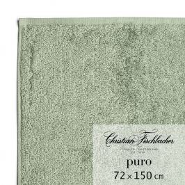 Christian Fischbacher Osuška 72 x 150 cm zelenošedá Puro, Fischbacher