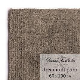 Christian Fischbacher Koupelnový kobereček 60 x 100 cm hnědošedý Dreamtuft Puro, Fischbacher