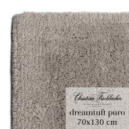 Christian Fischbacher Koupelnový kobereček 70 x 130 cm béžovošedý Dreamtuft Puro, Fischbacher