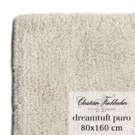 Christian Fischbacher Koupelnový kobereček 80 x 160 cm pískový Dreamtuft Puro, Fischbacher