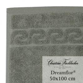 Christian Fischbacher Ručník 50 x 100 cm šedozelený Dreamflor®, Fischbacher
