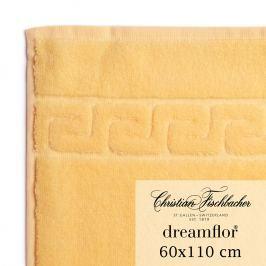 Christian Fischbacher Ručník velký 60 x 110 cm vanilkový Dreamflor®, Fischbacher