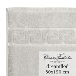 Christian Fischbacher Osuška 80 x 150 cm stříbrná Dreamflor®, Fischbacher