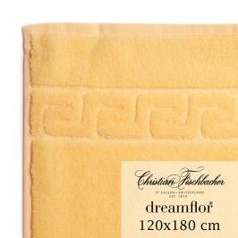 Christian Fischbacher Osuška velká 120 x 180 cm vanilková Dreamflor®, Fischbacher