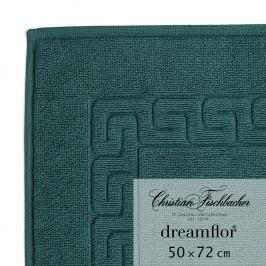 Christian Fischbacher Koupelnová předložka 50 x 72 cm smaragdová Dreamflor®, Fischbacher