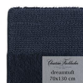 Christian Fischbacher Koupelnový kobereček 70 x 130 cm temně modrý Dreamtuft, Fischbacher