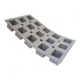 de Buyer Profi silikonová forma na 15 mini krychlí Elastomoule®
