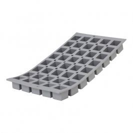 de Buyer Profi silikonová forma na 40 mini krychlí Elastomoule®