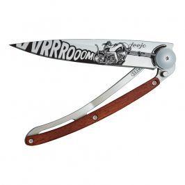 deejo Kapesní nůž biker 37 g rosewood Vroom