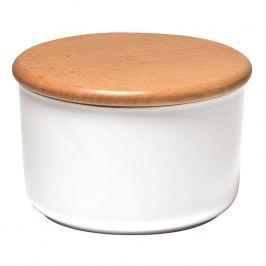 Emile Henry Dóza na koření/potraviny bílá Flour Ø 15 cm