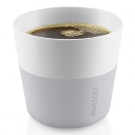 Eva Solo Termohrnky na kávu Lungo 230 ml 2 kusy světle šedé