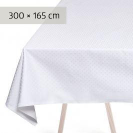 GEORG JENSEN DAMASK Ubrus white 300 × 165 cm SNOWFLAKES