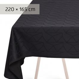 GEORG JENSEN DAMASK Ubrus anthracite 220 × 165 cm ARNE JACOBSEN