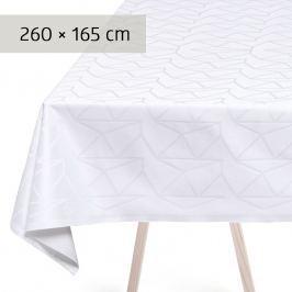 GEORG JENSEN DAMASK Ubrus white 260 × 165 cm ARNE JACOBSEN