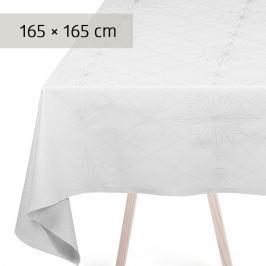 GEORG JENSEN DAMASK Ubrus white 165 × 165 cm FINNSDOTTIR