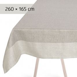 GEORG JENSEN DAMASK Ubrus grey 260 × 165 cm PLAIN