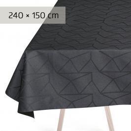 GEORG JENSEN DAMASK Ubrus asphalt 240 × 150 cm ARNE JACOBSEN
