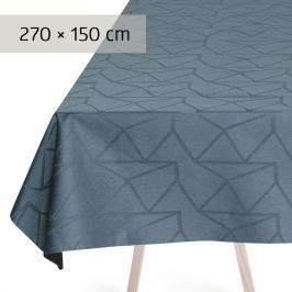GEORG JENSEN DAMASK Ubrus dusty blue 270 × 150 cm ARNE JACOBSEN