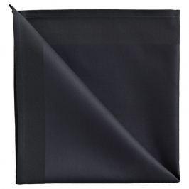 GEORG JENSEN DAMASK Ubrousek anthracite 50 × 50 cm