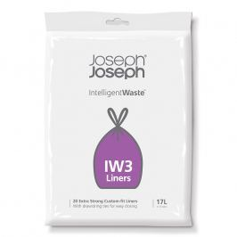 Joseph Joseph Extra pevné sáčky na odpadky 17 l IntelligentWaste™ IW3