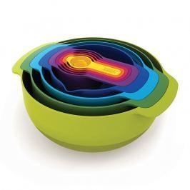 Joseph Joseph Sada stohovatelných mís a odměrek Multi-colour Nest™ 9 Plus