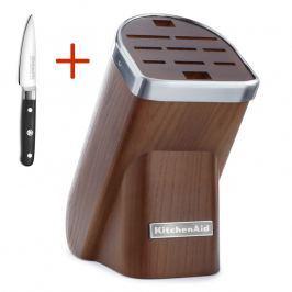 KitchenAid Dřevěný blok na nože jasanový