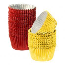 KAISER Hliníkové košíčky na pralinky barevné 30 ks malé