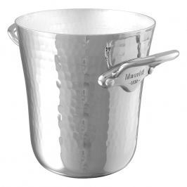 MAUVIEL Hliníková tepaná nádoba na led s nerezovými uchy Ø 12 cm
