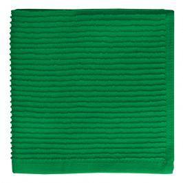 MÜkitchen Kuchyňský ručník s žebrováním malý smaragdový MÜincotton®