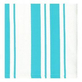 MÜkitchen Kuchyňské utěrky/ručníky malé aqumarine pruhy MÜincotton® 2 ks
