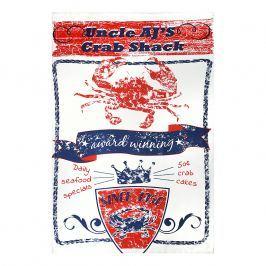 MÜkitchen Kuchyňská utěrka/ručník MÜincotton® Uncle AJ´s Crab Shack