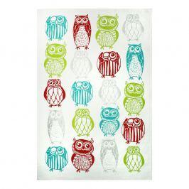 MÜkitchen Kuchyňská utěrka/ručník MÜincotton® happy owls