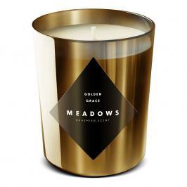 Meadows Vonná svíčka Golden Grace medium zlatá
