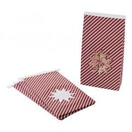 NordicWare Papírové dárkové sáčky Star Seasonally Sweet Holiday 6 kusů, Nordic Ware